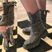 Toujours à la pointe de la mode.. une belle nouveauté Airstep à découvrir chez Souliers&Compagnie 🖤 #airstep #airstepshoes #airstep98 #chaussuresfemme #boots