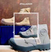 🥾 On ne se lasse pas de ce modèle emblématique de chez #Palladium  Cet été, la Pampa Hi pour vous Messieurs, vous propose de jolies couleurs discrètes en toile délavée.   👇Différents modèles disponibles sur notre site  #souliersetcompagnie #palladium #palladiumboots #palladiumpampa