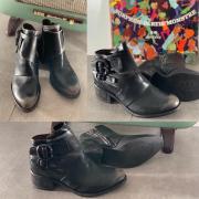 On vous propose une boots aujourd'hui avec une magnifique patine sur le devant!  #boots #chaussurestendance #airstep #airstepshoes