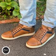 Commander sur notre site, la livraison est gratuite !! 🚚  https://soulierscompagnie.com/basses-a-lacets/1861-12544-ormani.html#/1-matiere_interieure-cuir/9-taille-40/13-matiere_dessus-cuir/14-semelle_interieure-cuir/260-couleur-cognac  #redskins #chaussuresredskins #chaussureshommes #tennishommes
